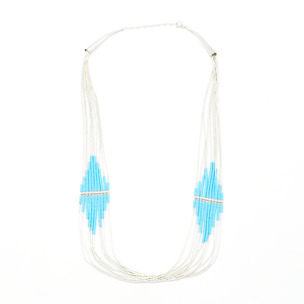 Turquoise Necklace 24 inch