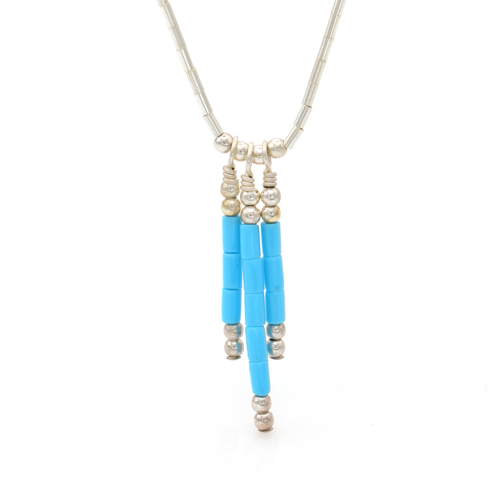 Turquoise Necklace 16 inch