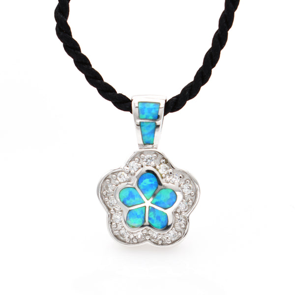 Lab Opal Necklace 18 inch