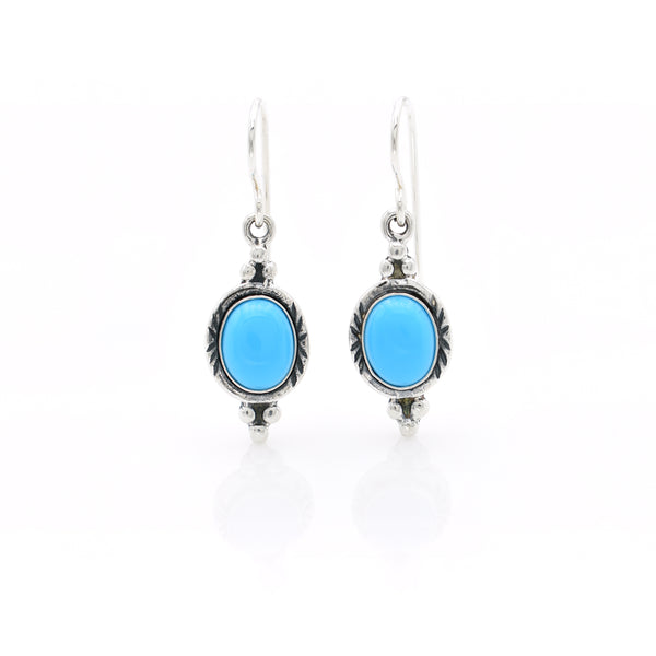 Turquoise Earring 10x12mm