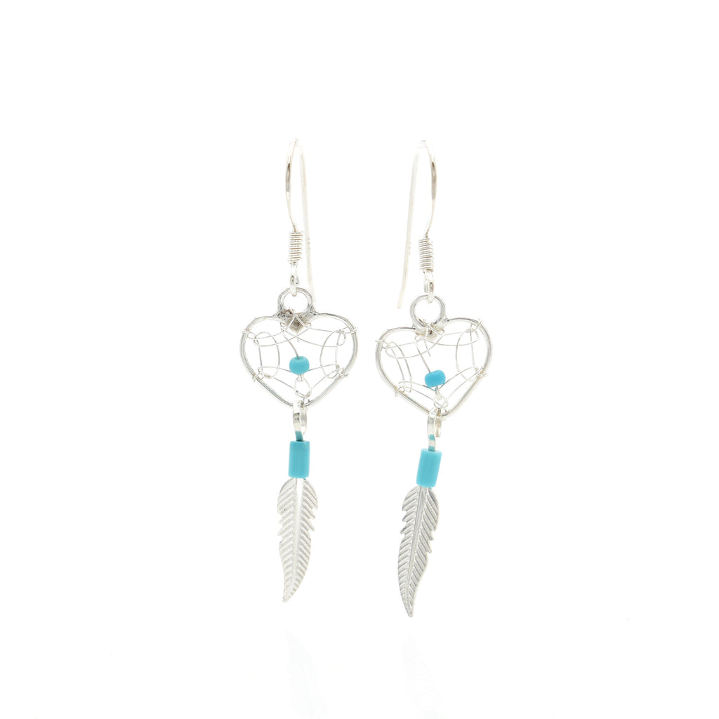 Turquoise Earring 10x22mm
