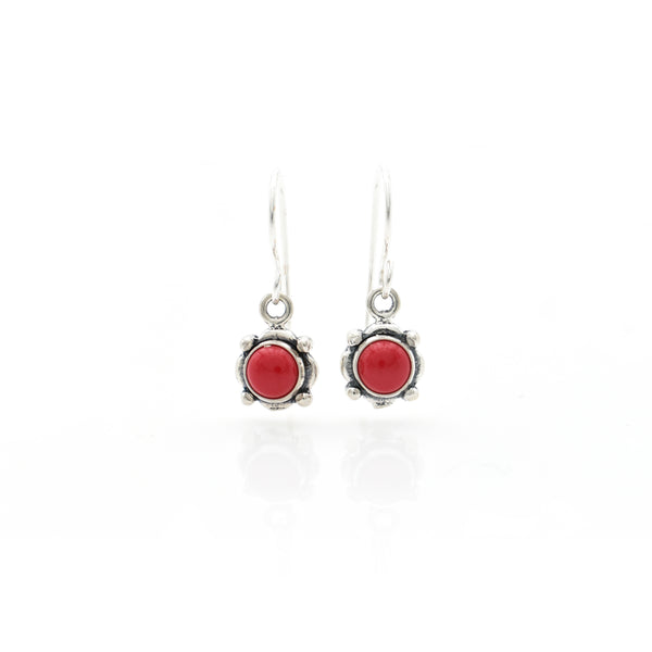 Coral Earring 6mm