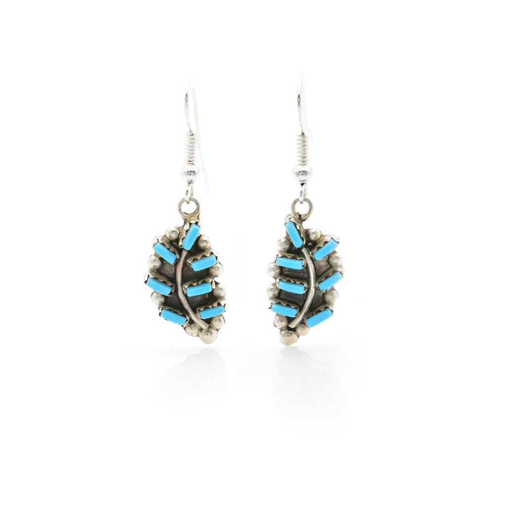 Turquoise Earring 11x22mm