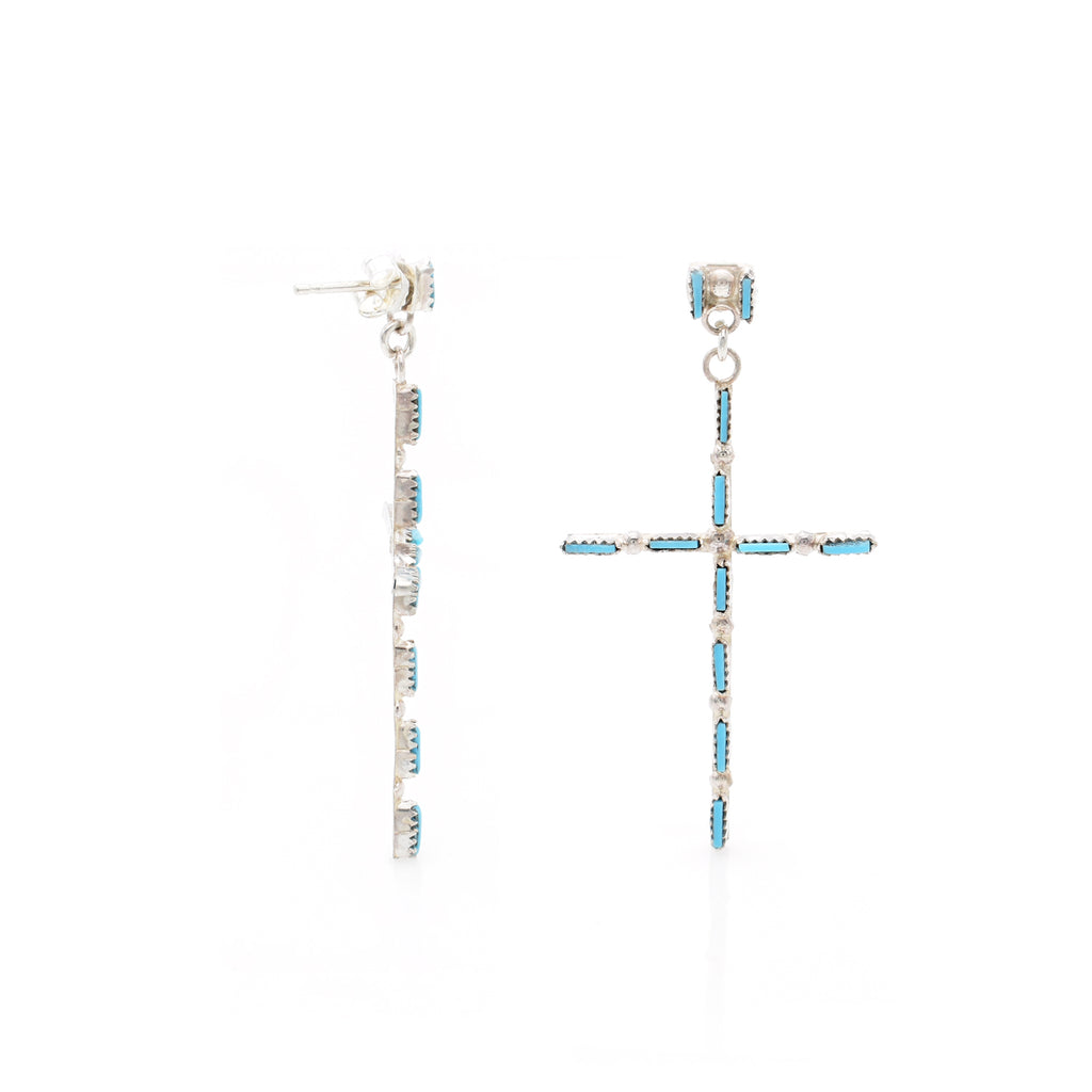 Turquoise Earring 26x50mm