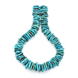 Bluejoy Genuine Indian-Style Natural Turquoise XL Free-Form Disc Bead 16-inch Strand (22mm)