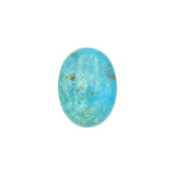 American-Mined Natural Turquoise Cabochon 21.5x29mm Oval Shape