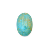 American-Mined Natural Turquoise Cabochon 20x29.5mm Oval Shape