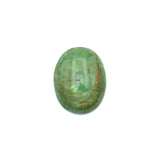 American-Mined Natural Turquoise Cabochon 20x25mm Oval Shape