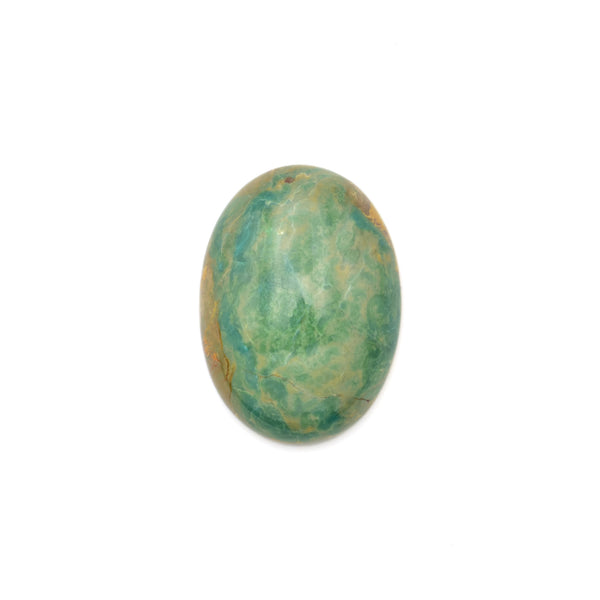 American-Mined Natural Turquoise Cabochon 20x28mm Oval Shape
