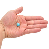 American-Mined Natural Turquoise Loose Bead 11mm Round Shape