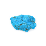 American-Mined Natural Turquoise Old Indian Style Loose Bead 21mmx33mm Free-Form Flats