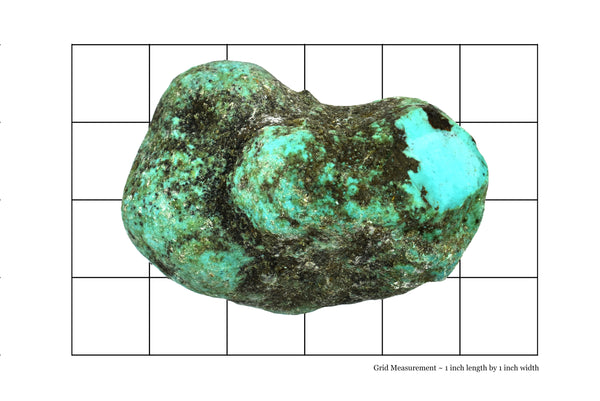 Turquoise Rough Stone, Stabilized