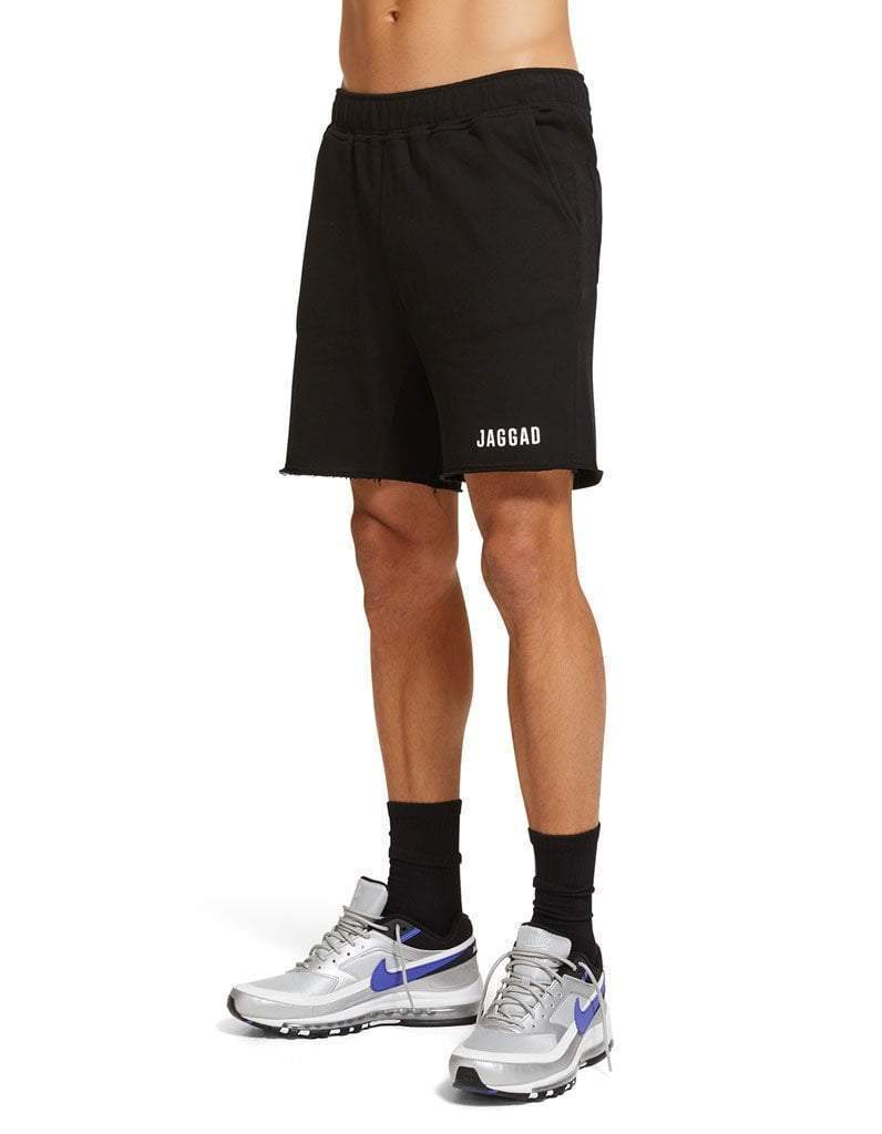 Black Core Fleece Shorts
