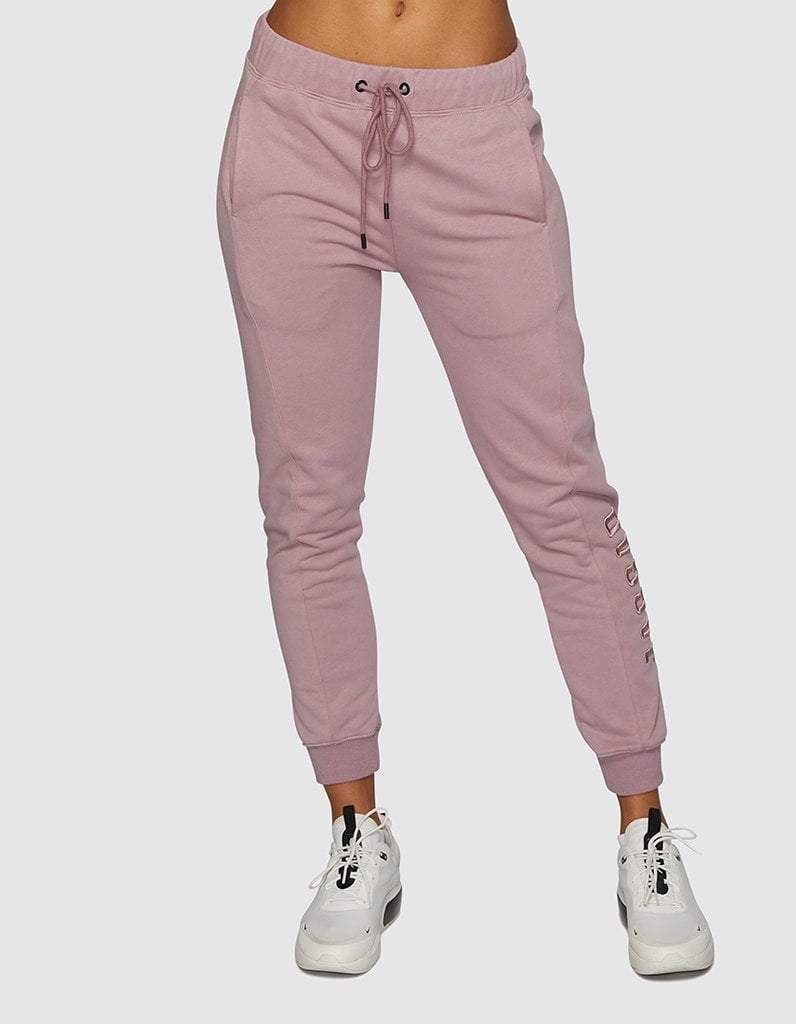 Dusty Lilac Panelled Trackpants