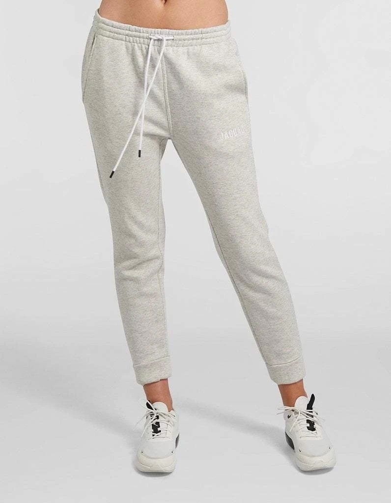 Light Grey Space Dye Trackpants