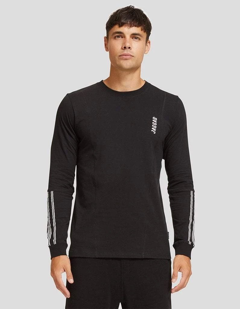 Quebec Long Sleeve Panelled Tee