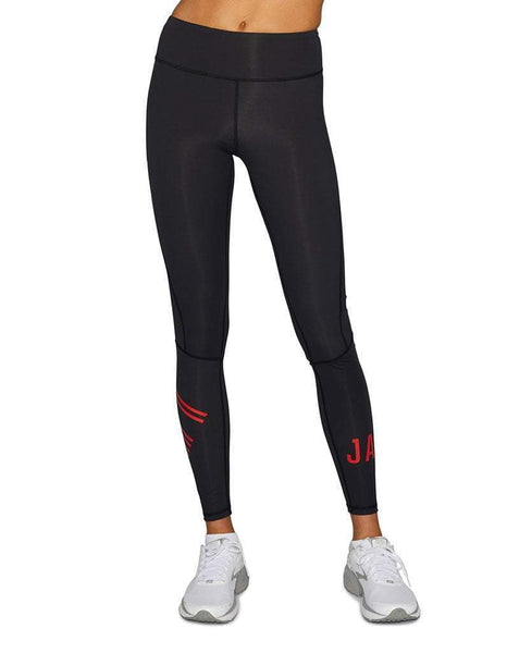 Red Compression Leggings