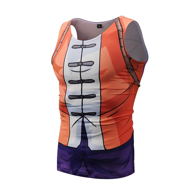 Dragon Ball Master Roshi Workout Tank