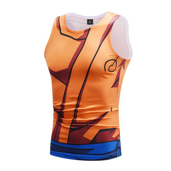 Dragon Ball Goku Whis Training Workout Tank