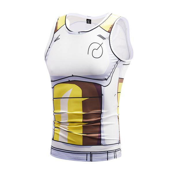 Dragon Ball Vegeta Whis Training Workout Tank