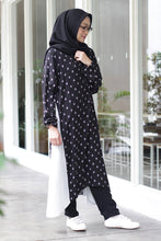Load image into Gallery viewer, Aluvia Dress Black, Dress - Casa Elana Indonesia