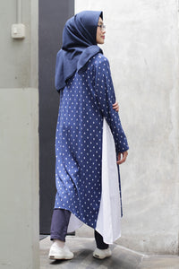 Aluvia Dress Blue, Dress - Casa Elana Indonesia