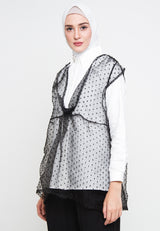 Mia Outer Black, Tops - Casa Elana Indonesia