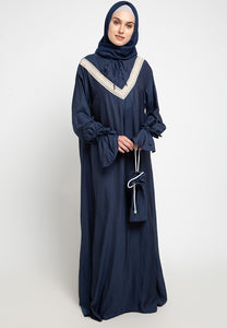 Prayer Set Navy, Dress - Casa Elana Indonesia
