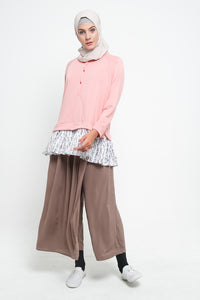 Kana Cullote Pants Brown, Bottom - Casa Elana Indonesia