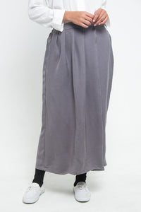 Kana Cullote Pants Grey, Bottom - Casa Elana Indonesia