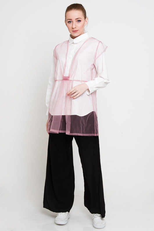 Mia Outer Pink, Tops - Casa Elana Indonesia
