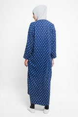 Primrose Dress Navy, Dress - Casa Elana Indonesia