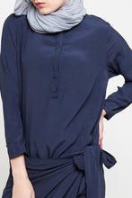 Load image into Gallery viewer, Tamara Dress Navy, Dress - Casa Elana Indonesia