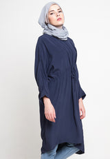 Valca Breastfeeding Tunic Navy, Tops - Casa Elana Indonesia