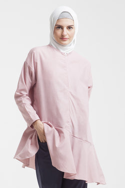 Yuri Breastfeeding Tunic Red Stripe, Tops - Casa Elana Indonesia