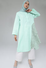 Load image into Gallery viewer, Adelin Breastfeeding Tunic Mint
