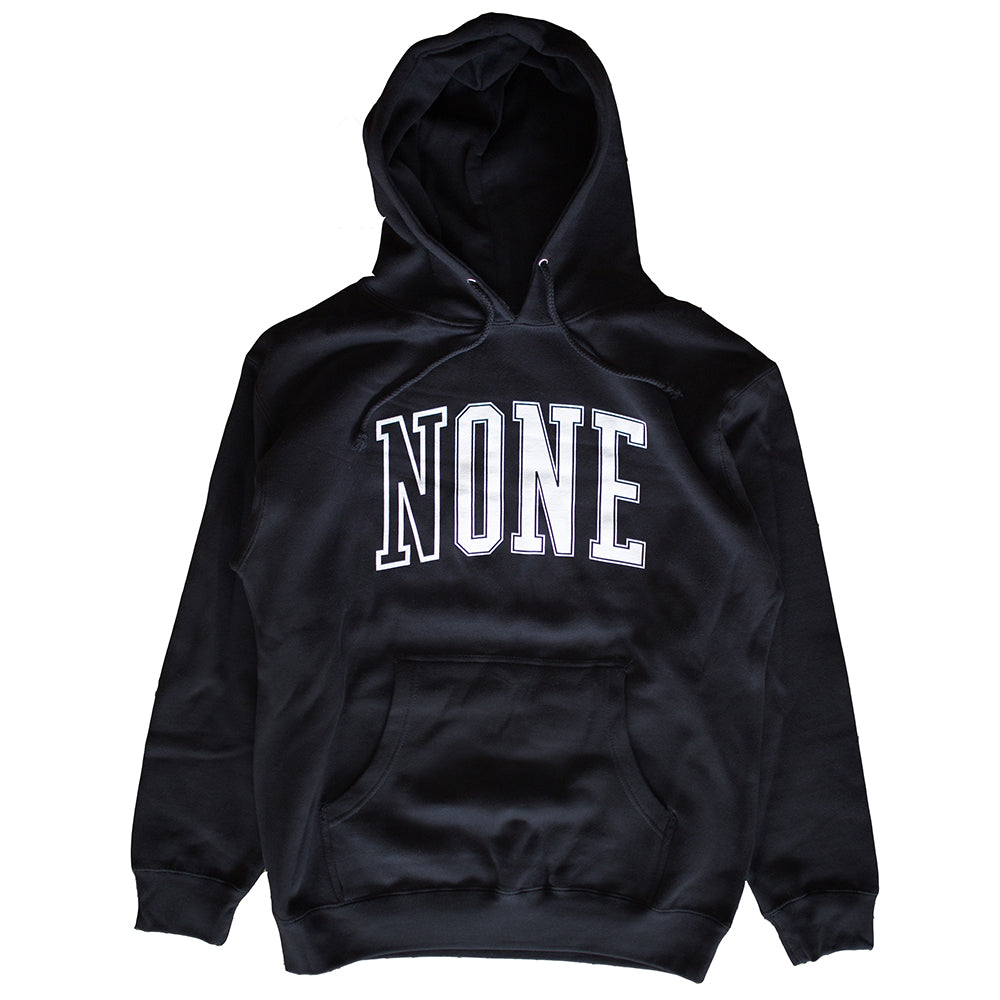 NONE University Hoodie (Black)