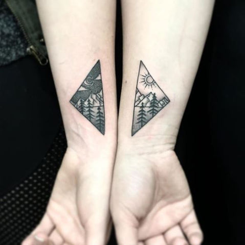 Best Friend Matching Tattoos: Cutest 20 Best Friend Tattoo Designs ...
