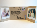 Send a personalized birthday card with photos by mail - Grandpa Birthday Card by CareGatto
