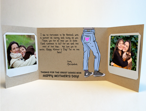 Great Genes<br> Mother's Day Card<br> Original Greeting