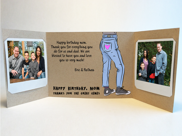 Send a personalized birthday card by mail - Mother Birthday Card by CareGatto
