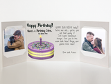 Send a personalized birthday card with photos by mail - Gluten Free Birthday Card by CareGatto