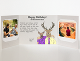 Send a personalized birthday card to dad from son with photos by mail online - Dad Birthday Card by CareGatto