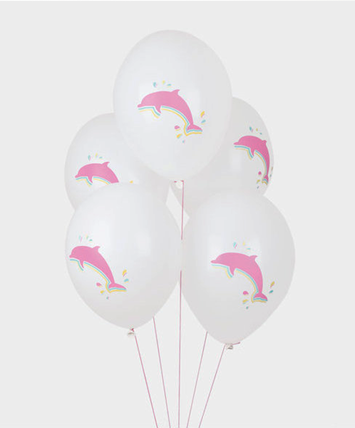 Dolphin Balloons<br> Made in Europe