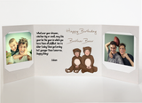 Send a personalized birthday card with photos by mail - Brother Birthday Card by CareGatto
