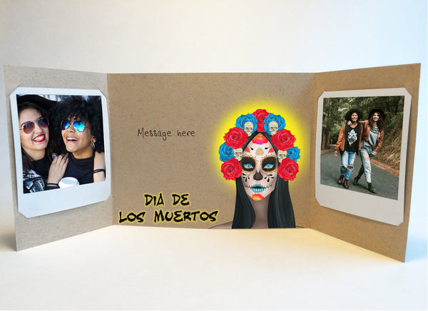 Dia de los muertos<br>photo greeting