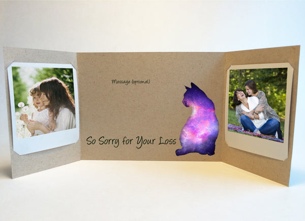 send a cat sympathy card pet sympathy