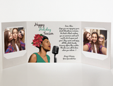 Billie Holiday<br> Photo Greeting<br> (2 design options)