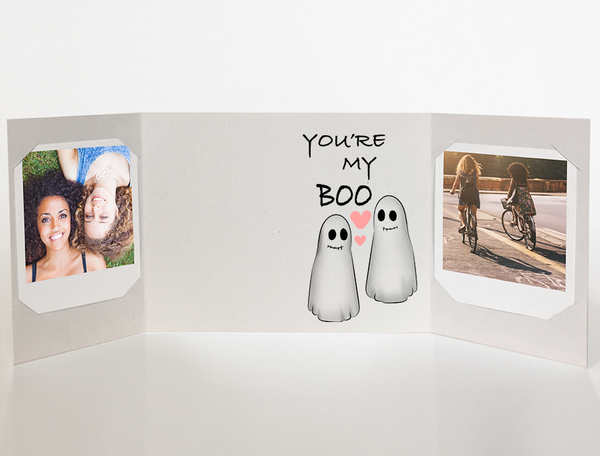 My Boo<br> Halloween Card<br> Photo Greeting