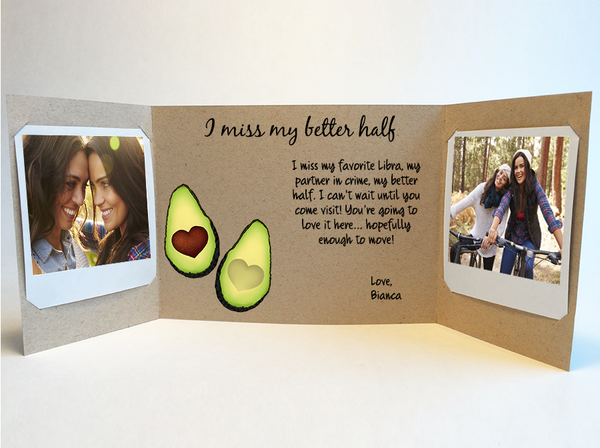 Avocado Love<br> Photo Greeting